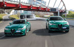 Îmbunătățiri pentru Alfa Romeo Giulia și Stelvio Quadrifoglio: italienii propun modificări la interior și o paletă mai bogată de culori pentru caroserie