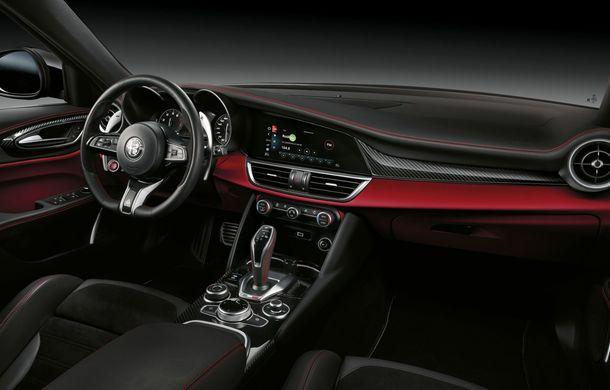 Îmbunătățiri pentru Alfa Romeo Giulia și Stelvio Quadrifoglio: italienii propun modificări la interior și o paletă mai bogată de culori pentru caroserie - Poza 24