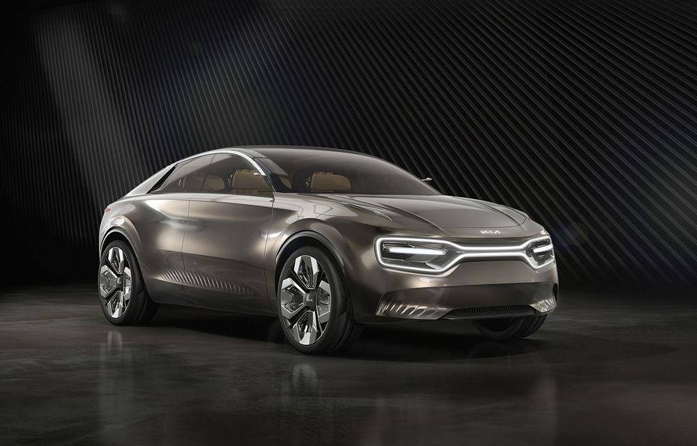 Viitorul model electric dezvoltat pornind de la conceptul Imagine by Kia va fi lansat în 2021: autonomie de circa 480 de kilometri și sistem electric la 800V - Poza 1