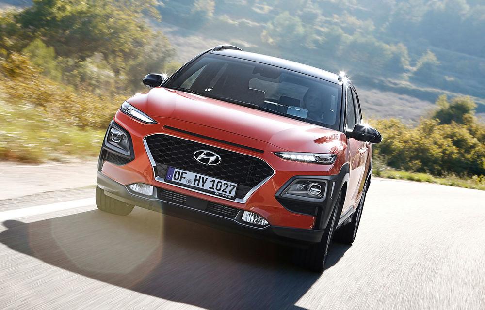 Video. Hyundai Kona N, surprins în timpul testelor de pe Nurburgring: SUV-ul de performanță va fi lansat în acest an - Poza 1