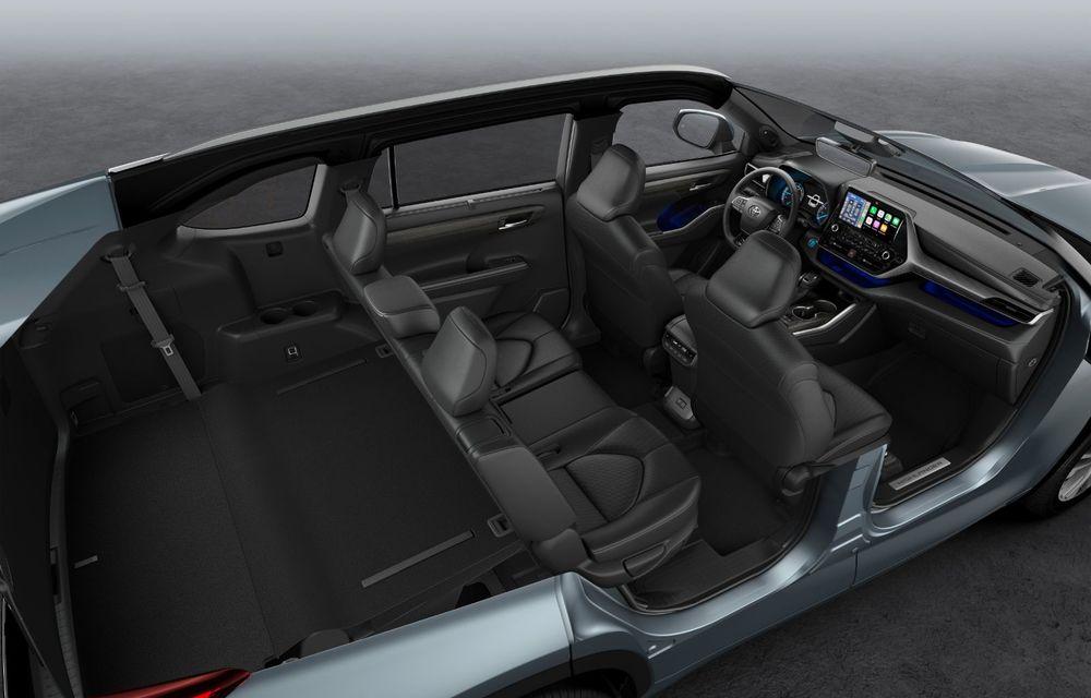 Toyota lansează Highlander în Europa: SUV-ul cu șapte locuri va avea doar versiune cu sistem hibrid de propulsie - Poza 5