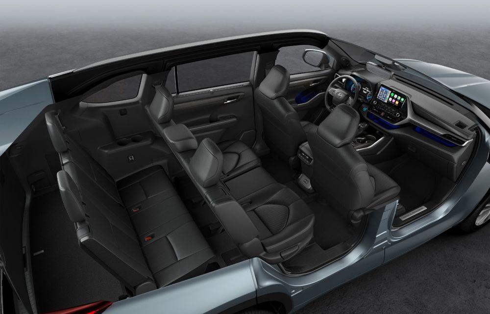 Toyota lansează Highlander în Europa: SUV-ul cu șapte locuri va avea doar versiune cu sistem hibrid de propulsie - Poza 4
