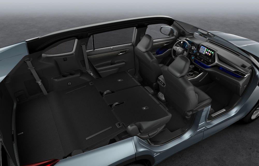 Toyota lansează Highlander în Europa: SUV-ul cu șapte locuri va avea doar versiune cu sistem hibrid de propulsie - Poza 6