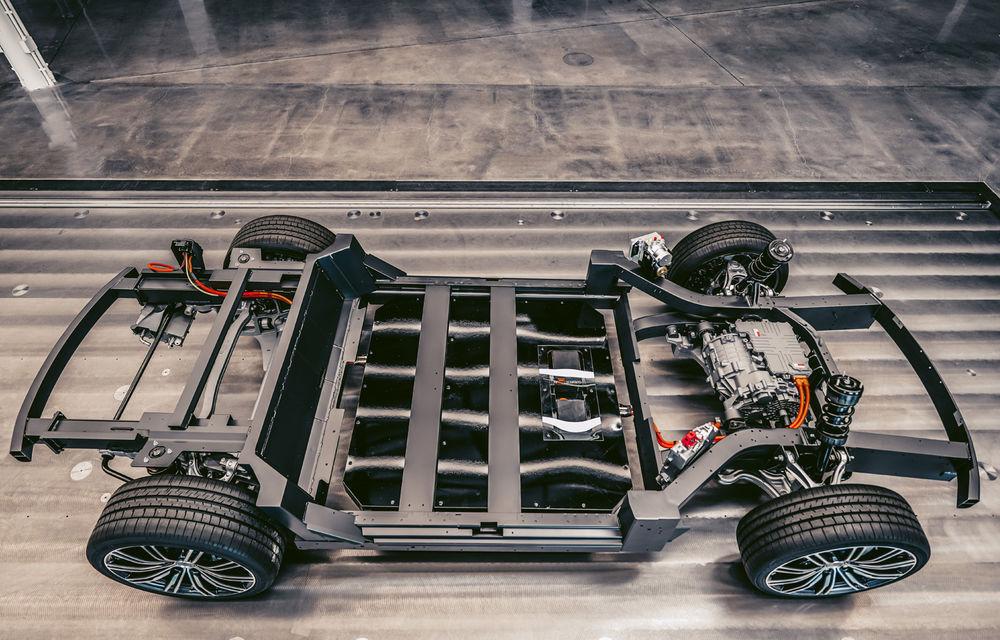 Karma oferă detalii despre noua platformă pentru modele electrice: un motor electric și baterie de 80 kWh - Poza 1