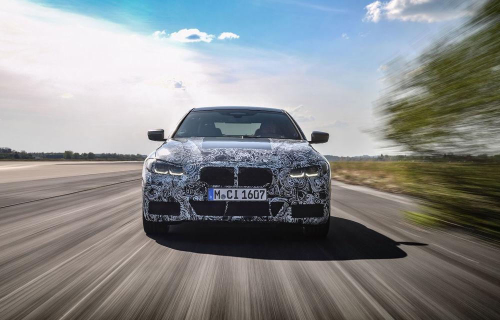 Viitorul BMW Seria 4 Gran Coupe va avea versiune de performanță: lansarea lui M4 Gran Coupe este programată pentru 2022 - Poza 1
