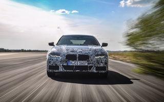 Viitorul BMW Seria 4 Gran Coupe va avea versiune de performanță: lansarea lui M4 Gran Coupe este programată pentru 2022