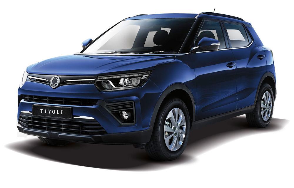 SsangYong Tivoli primește o motorizare nouă: 1.2 litri benzină cu trei cilindri și 128 de cai putere - Poza 1