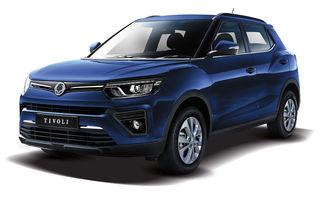 SsangYong Tivoli primește o motorizare nouă: 1.2 litri benzină cu trei cilindri și 128 de cai putere