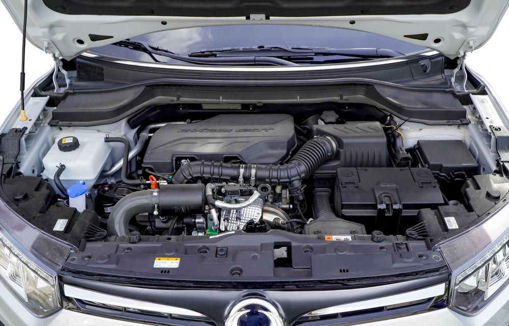 SsangYong Tivoli primește o motorizare nouă: 1.2 litri benzină cu trei cilindri și 128 de cai putere - Poza 2