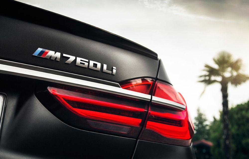 Producția versiunii BMW M760Li ar urma să se încheie în această toamnă: vârful de gamă echipat cu motorul V12 nu va primi un înlocuitor - Poza 1