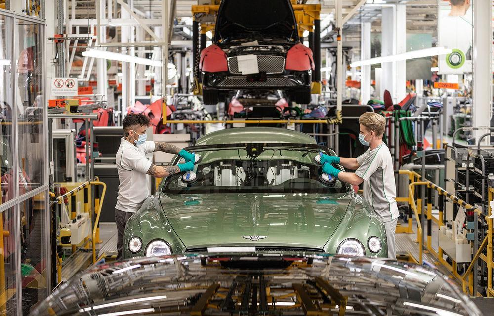 Bentley a reluat activitatea la uzina din Crewe: măsuri suplimentare pentru protejarea angajaților și capacitate de producție redusă la jumătate - Poza 1
