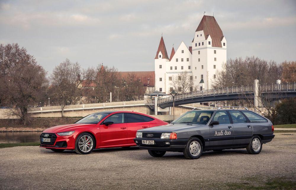 Peste 30 de ani de la debutul conceptului Audi duo: primul plug-in hybrid al nemților avea la bază modelul Audi 100 Avant - Poza 2