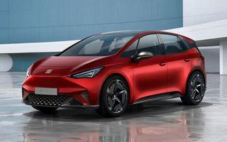 Cupra ar putea lansa o versiune de performanță pentru viitorul hatchback electric Seat el-Born: două motoare electrice și 306 CP