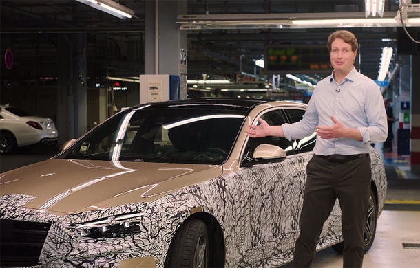 Primul teaser video cu viitorul Mercedes-Benz Clasa S: vârful de gamă al constructorului german va fi prezentat în acest an - Poza 1