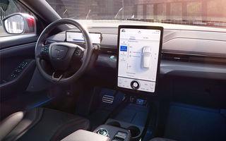 """SUV-ul electric Ford Mustang Mach-E va primi actualizări over-the-air: """"Unele update-uri vor putea fi instalate și în mai puțin de două minute"""""""