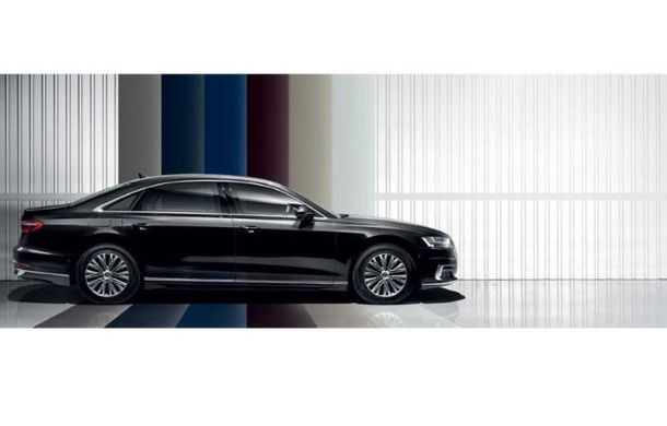 Audi a lansat noul A8 L Security: versiunea blindată a limuzinei germane rezistă la gloanțe și explozii - Poza 5