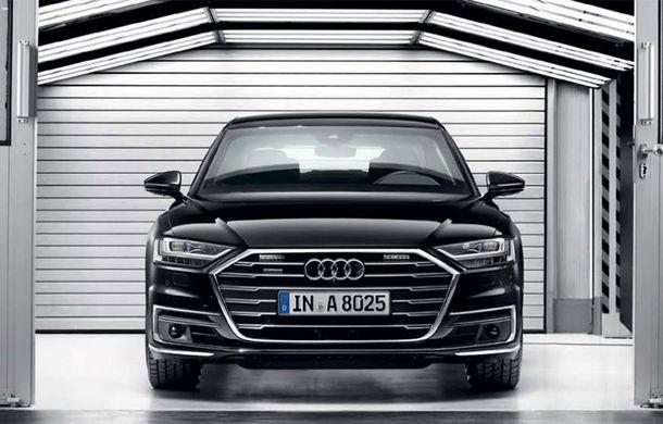 Audi a lansat noul A8 L Security: versiunea blindată a limuzinei germane rezistă la gloanțe și explozii - Poza 1
