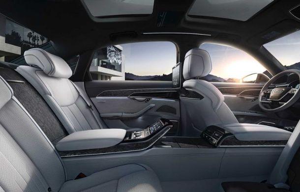 Audi a lansat noul A8 L Security: versiunea blindată a limuzinei germane rezistă la gloanțe și explozii - Poza 8