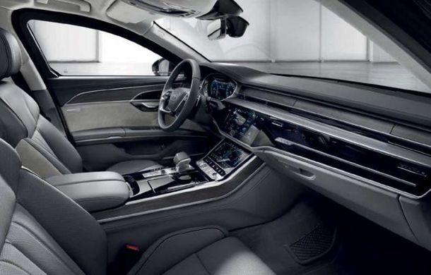 Audi a lansat noul A8 L Security: versiunea blindată a limuzinei germane rezistă la gloanțe și explozii - Poza 7