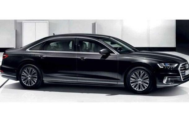 Audi a lansat noul A8 L Security: versiunea blindată a limuzinei germane rezistă la gloanțe și explozii - Poza 4