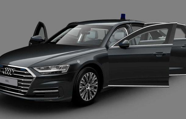 Audi a lansat noul A8 L Security: versiunea blindată a limuzinei germane rezistă la gloanțe și explozii - Poza 2