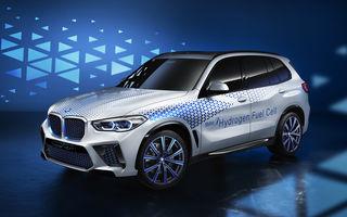 BMW confirmă planurile pentru mașinile electrice pe pile de hidrogen: primele modele de serie vor apărea după anul 2025