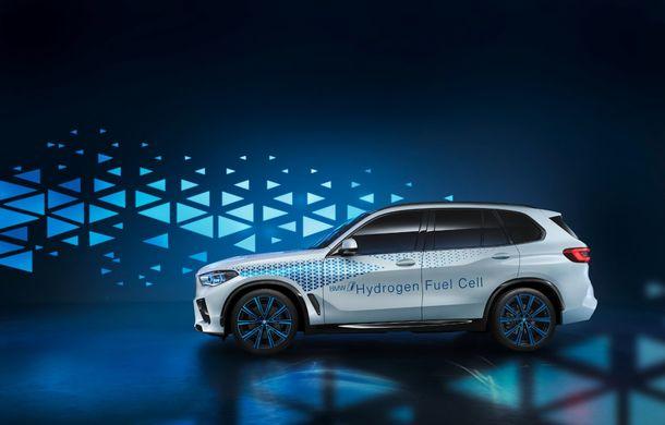 BMW confirmă planurile pentru mașinile electrice pe pile de hidrogen: primele modele de serie vor apărea după anul 2025 - Poza 2