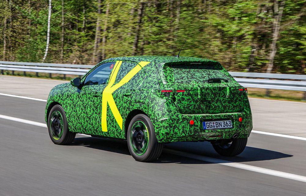 Imagini noi sub camuflaj cu viitorul Opel Mokka: SUV-ul producătorului german va avea versiune electrică și va fi lansat pe piață în 2021 - Poza 12