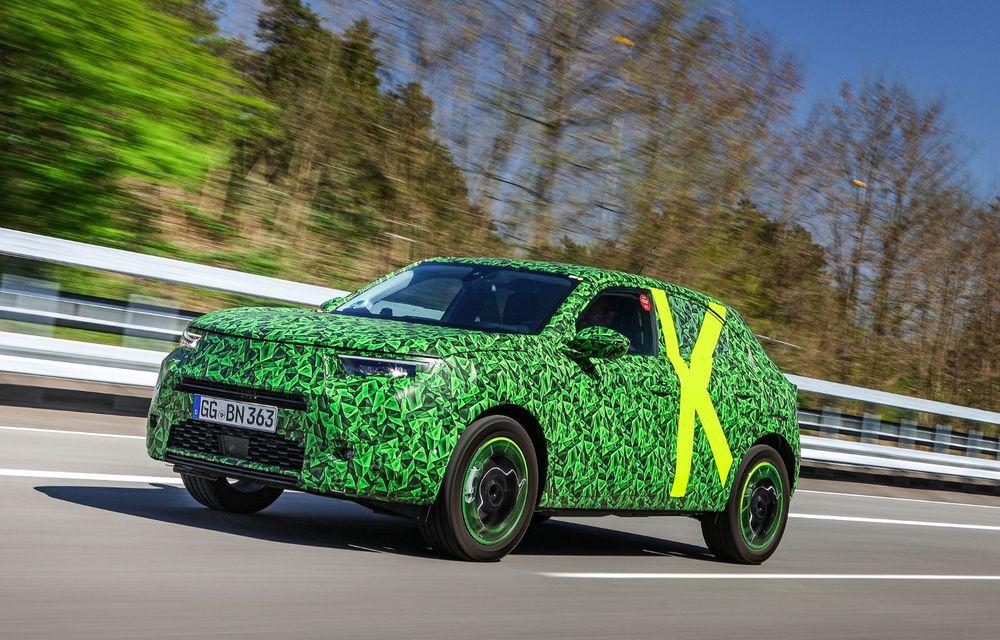 Imagini noi sub camuflaj cu viitorul Opel Mokka: SUV-ul producătorului german va avea versiune electrică și va fi lansat pe piață în 2021 - Poza 11