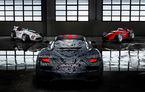 Imagini noi cu prototipul viitorului Maserati MC20: italienii au pregătit un exemplar inspirat de Maserati Eldorado, monopostul pilotat de Sir Stirling Moss