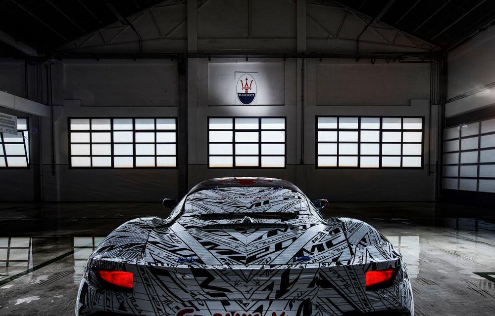 Imagini noi cu prototipul viitorului Maserati MC20: italienii au pregătit un exemplar inspirat de Maserati Eldorado, monopostul pilotat de Sir Stirling Moss - Poza 2