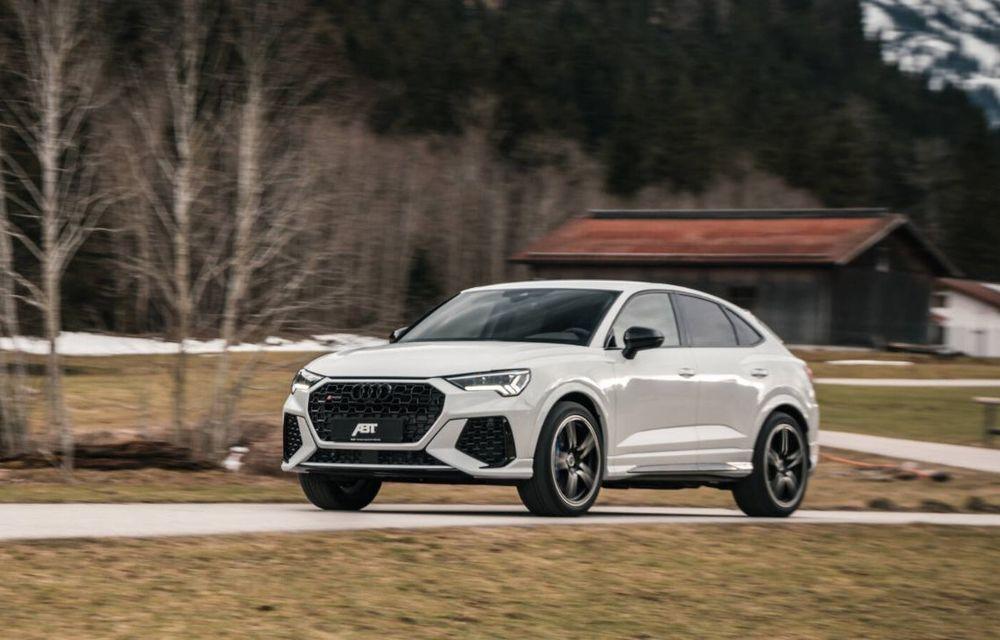Pachet de performanță din partea ABT pentru Audi RS Q3 Sportback: 440 de cai putere și accelerație 0-100 km/h în 4.3 secunde - Poza 2