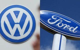 Parteneriat Volkswagen-Ford privind dezvoltarea de mașini electrice și autonome: noua strategie ar urma să fie anunțată în iunie