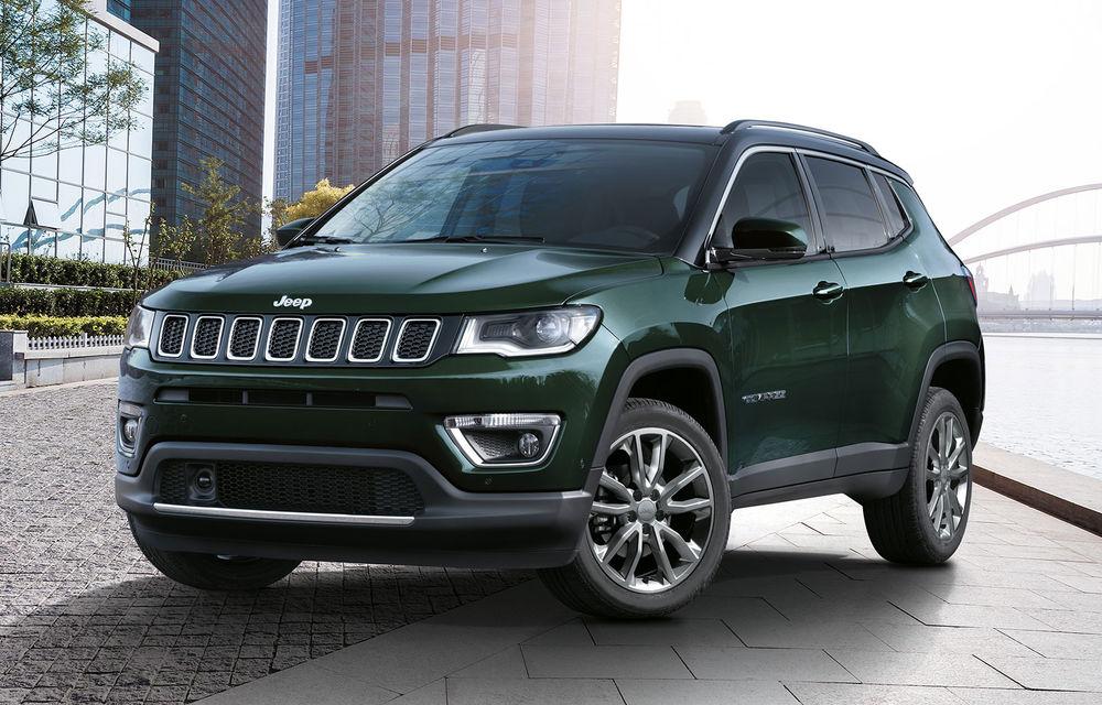 Îmbunătățiri pentru Jeep Compass: motorizare pe benzină de 1.3 litri și versiuni plug-in hybrid de 190 CP și 240 CP - Poza 1