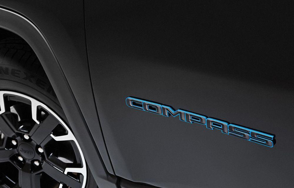 Îmbunătățiri pentru Jeep Compass: motorizare pe benzină de 1.3 litri și versiuni plug-in hybrid de 190 CP și 240 CP - Poza 6