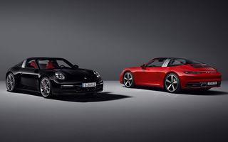 Porsche a prezentat noua generație 911 Targa: două versiuni de putere cu până la 450 CP și soft-top acționat electric în 19 secunde