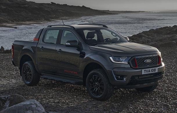 Ford Ranger primește ediția specială Thunder: jante de 18 inch, faruri și lumini de ceață LED și numai 4.500 de unități în Europa - Poza 4