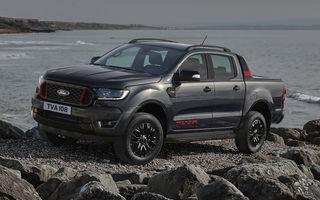 Ford Ranger primește ediția specială Thunder: jante de 18 inch, faruri și lumini de ceață LED și numai 4.500 de unități în Europa