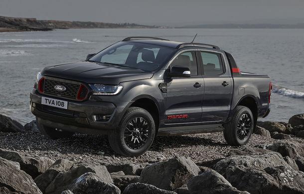 Ford Ranger primește ediția specială Thunder: jante de 18 inch, faruri și lumini de ceață LED și numai 4.500 de unități în Europa - Poza 1