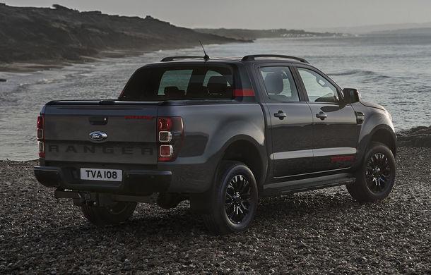Ford Ranger primește ediția specială Thunder: jante de 18 inch, faruri și lumini de ceață LED și numai 4.500 de unități în Europa - Poza 5