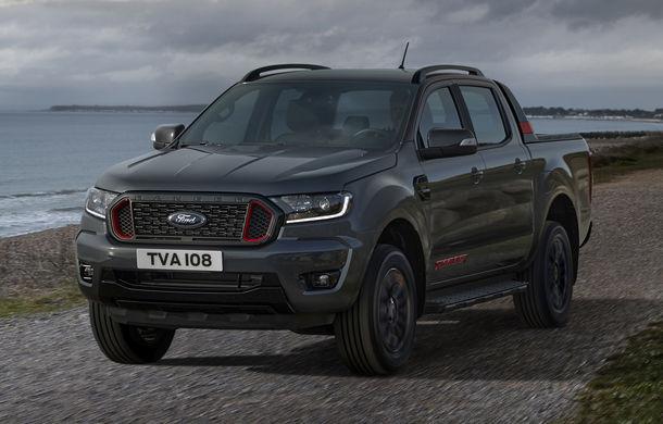 Ford Ranger primește ediția specială Thunder: jante de 18 inch, faruri și lumini de ceață LED și numai 4.500 de unități în Europa - Poza 3