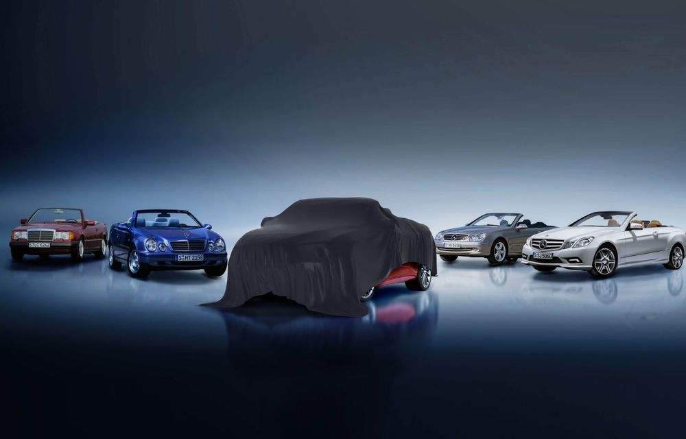 Primele imagini teaser cu viitoarele Mercedes-Benz Clasa E Coupe și Clasa E Cabrio facelift: cele două modele vor debuta în 27 mai - Poza 2
