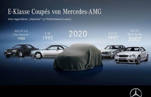 Primele imagini teaser cu viitoarele Mercedes-Benz Clasa E Coupe și Clasa E Cabrio facelift: cele două modele vor debuta în 27 mai - Poza 3