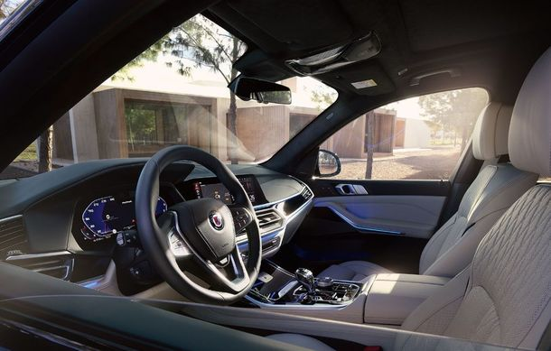 Alpina a prezentat noul XB7: SUV-ul dezvoltat pornind de la BMW X7 are motor V8 cu 621 de cai putere - Poza 12