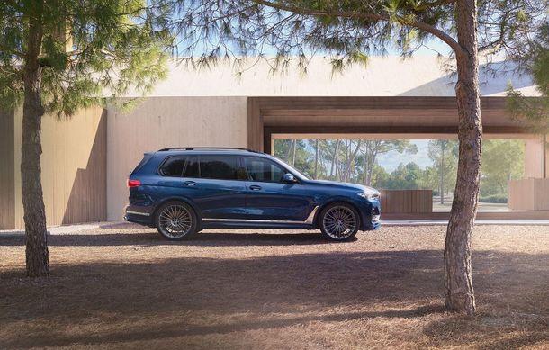 Alpina a prezentat noul XB7: SUV-ul dezvoltat pornind de la BMW X7 are motor V8 cu 621 de cai putere - Poza 7