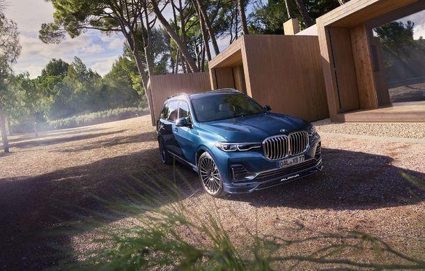 Alpina a prezentat noul XB7: SUV-ul dezvoltat pornind de la BMW X7 are motor V8 cu 621 de cai putere - Poza 4