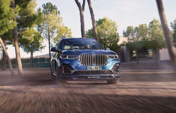 Alpina a prezentat noul XB7: SUV-ul dezvoltat pornind de la BMW X7 are motor V8 cu 621 de cai putere - Poza 1