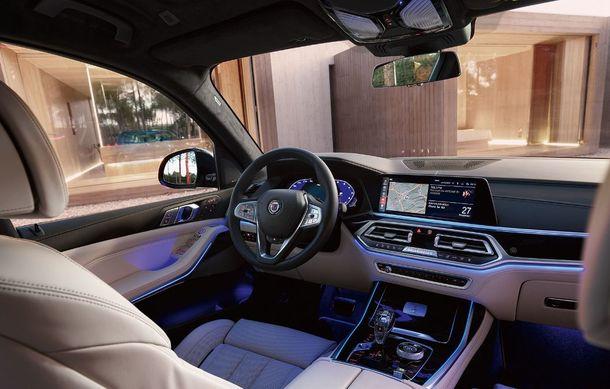 Alpina a prezentat noul XB7: SUV-ul dezvoltat pornind de la BMW X7 are motor V8 cu 621 de cai putere - Poza 10