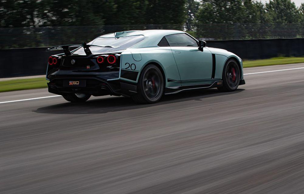 Primele imagini cu versiunea de producție a lui Nissan GT-R50 by Italdesign: modelul sport va fi asamblat în doar 50 de unități - Poza 4