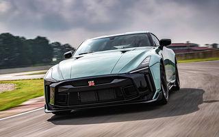 Primele imagini cu versiunea de producție a lui Nissan GT-R50 by Italdesign: modelul sport va fi asamblat în doar 50 de unități